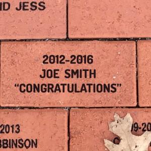4x8 Commemorative Brick